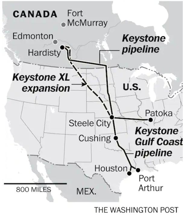 Новый удар по нефтяникам от ESG. Трубопровод Keystone XL похоронен